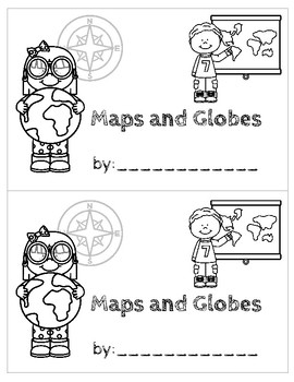 Minibook for Maps and Globes