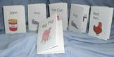 Minibook phonics pre-reader early emerging reader reception kindergarten