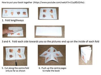 Minibook series phonics pre-reader early emerging reader reception kindergarten