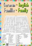 German-English-Vocabulary: Family