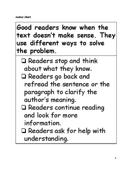 Minilesson: Checking for Understanding as you Read