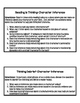 Minilessons to Teach Character Inference in Reading Workshop