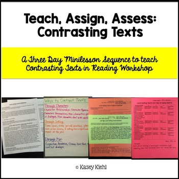 Minilessons to Teach Contrasting Texts in Reading Workshop
