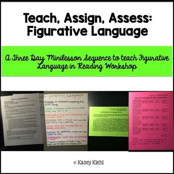 Minilessons to Teach Figurative Language in Reading Workshop