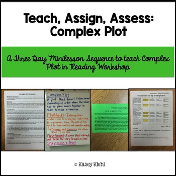 Minilessons to Teach Complex Plot in Reading Workshop
