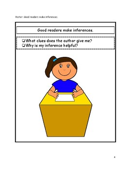 Minilesson: Good readers make inferences