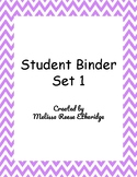 Minilesson: My Reading Binder