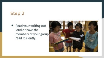 Minilesson: Peer Response from your Writing Group