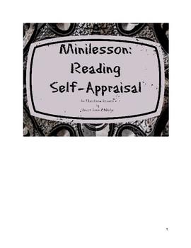 Minilesson: Reading Self-Appraisal