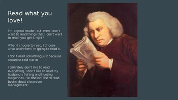 Minilesson: Ugh! Reading is Boring!