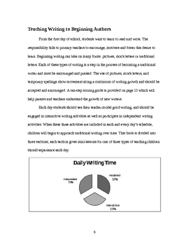 Minilessons for Writing Grades K-2