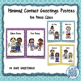 Minimal Contact Greeting Cards for Music Class