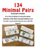 Minimal Pair Flip Cards (134 pairs)