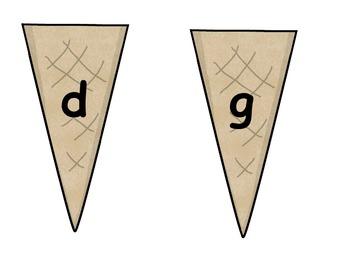 Minimal Pair Ice Cream Scoops