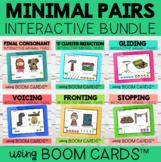 Minimal Pair Interactive Boom Cards™ Bundle