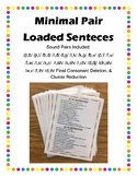 Minimal Pair Loaded Sentences