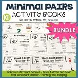 Minimal Pairs Activity Booklets BUNDLE