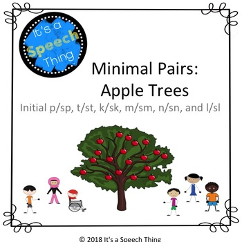Minimal Pairs Apples: s-blends