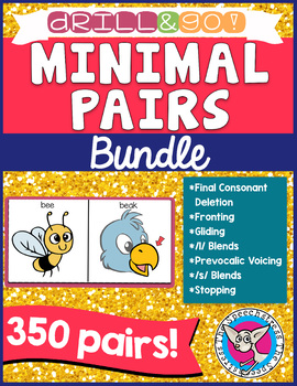 Minimal Pairs BUNDLE - 7 in 1