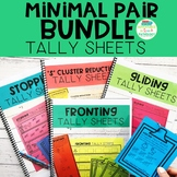 Minimal Pairs BUNDLE Tally Sheets