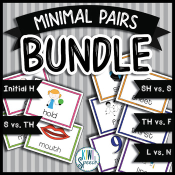 Minimal Pairs BUNDLE for Articulation and Phonology