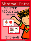 Minimal Pairs - CLUSTER REDUCTION {/S/ BLENDS}