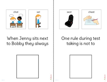 Minimal Pairs: Deaffrication Interactive Book and Pictures {FREE}