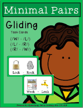 Phonological Process - Minimal Pairs - GLIDING