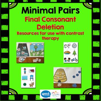 Minimal Pairs - Final Consonant Deletion