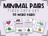 Minimal Pairs Flash Card Set