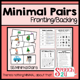 Minimal Pairs: Fronting & Backing, Speech Therapy, Phonology