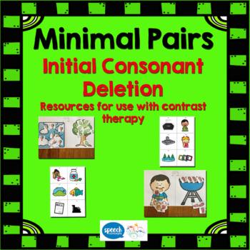 Minimal Pairs - Initial Consonant Deletion