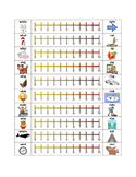 Minimal Pairs Initial R Articulation Practice w/Rating Sca