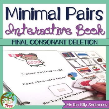 Minimal Pairs Interactive Book: Final Consonant Deletion