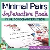 Minimal Pairs Final Consonant Deletion Interactive and No Print Books