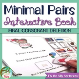 Minimal Pairs Final Consonant Deletion Interactive and No