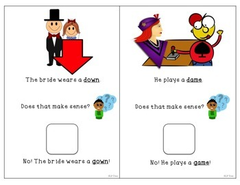 Minimal Pairs Interactive Book: Fronting