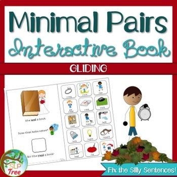 Minimal Pairs Interactive Book: Gliding