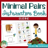 Minimal Pairs Gliding Interactive and NO PRINT Books