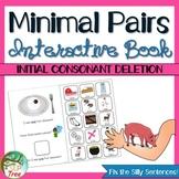 Minimal Pairs Interactive Book: Initial Consonant Deletion