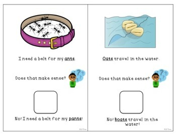 Minimal Pairs Interactive Book: Initial Consonant Deletion