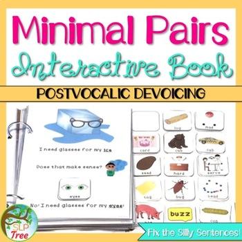 Minimal Pairs Interactive Book: Postvocalic Devoicing