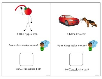 Minimal Pairs Interactive Book: Prevocalic Voicing