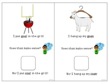 Minimal Pairs Interactive Book: Prevocalic Voicing