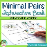 Minimal Pairs Prevocalic Voicing Interactive and No Print Books