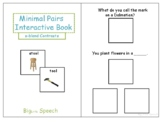 Minimal Pairs Interactive Book: S-blend Contrasts for Speech