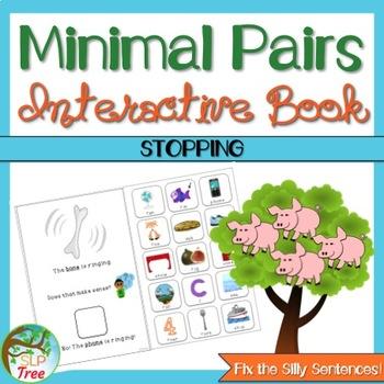 Minimal Pairs Interactive Book: Stopping