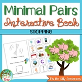 Minimal Pairs Interactive Book: Stopping