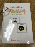 Minimal Pairs Interactive Book: sh/ch Contrasts for Speech