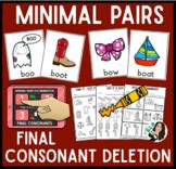 Minimal Pairs Interactive Unit for Final Consonants